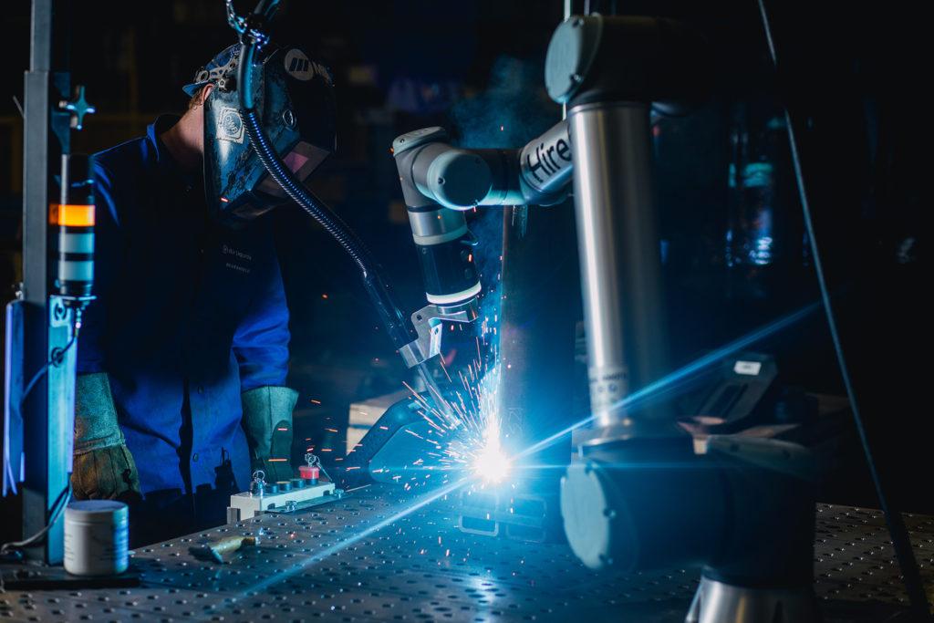 Hirebotics BotX (Robot Welder)