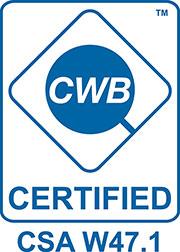CWB Certified CSA W47.1